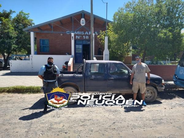 La historia detrás de la camioneta que la policía recuperó en Cipolletti