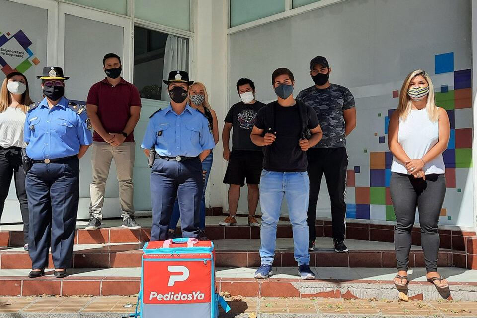 Trabajadores de Pedidos Ya se reunieron con la policía para pedir más seguridad