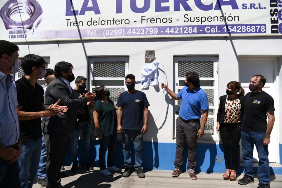 Reconocen al taller mecánico La Tuerca como un comercio histórico de Neuquén capital