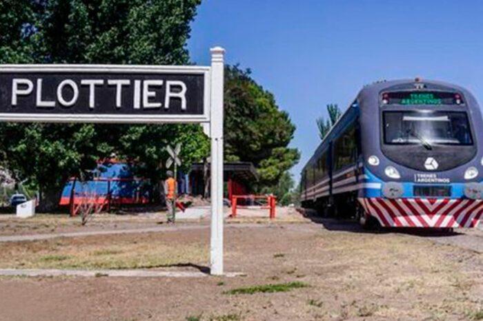 Volvió el tren entre Cipolletti y Plottier tras 29 años