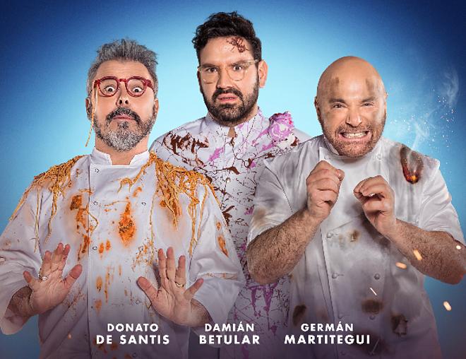 Llega un nuevo reality de Donato, Martitegui y Betular
