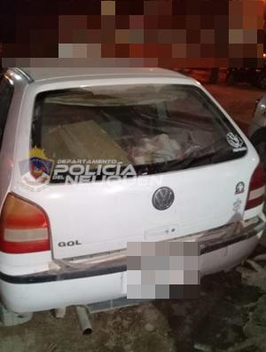 Dos hombres fueron demorados con elementos robados