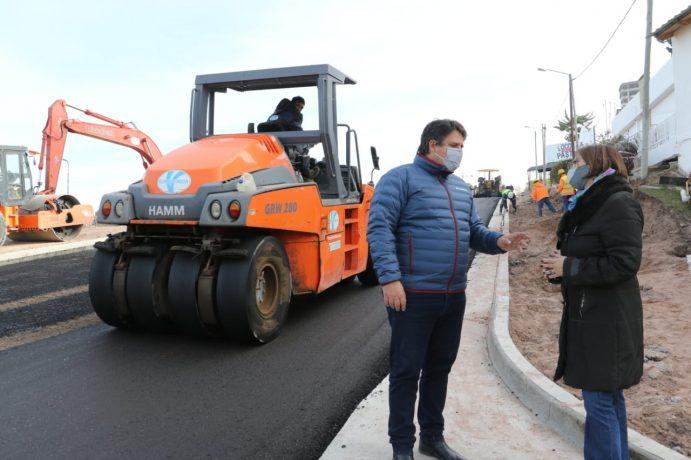 Tránsito: Por la obra del acceso Norte el ingreso y egreso a la ciudad será por la diagonal 9 de Julio