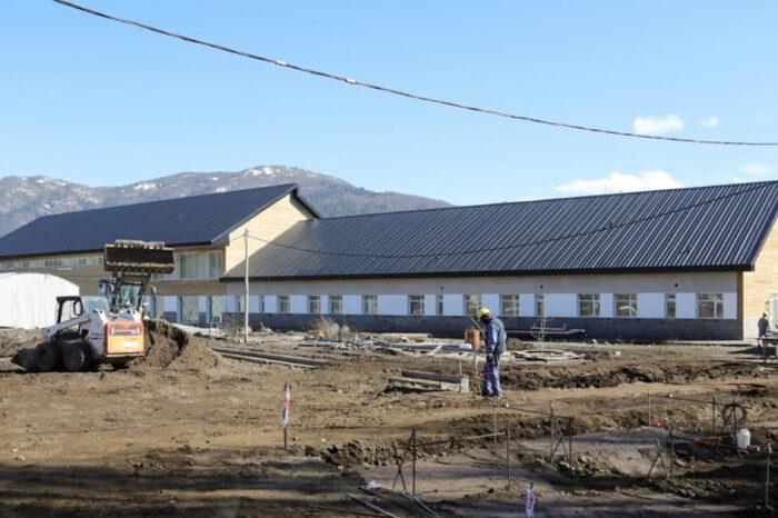 El nuevo hospital de San Martín de los Andes tiene un avance del 80 por ciento